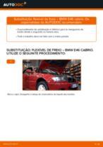 Mudar Tubo flexível de travão: instrução pdf para BMW 3 SERIES