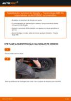 Recomendações do mecânico de automóveis sobre a substituição de TOYOTA Toyota Aygo ab1 1.4 HDi Farol Principal