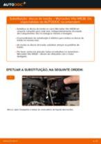 Aprenda a corrigir o problema do Discos de Travão traseira e dianteiro MERCEDES-BENZ