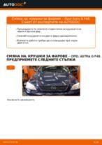 PDF Ръководство за ремонт на части за коли: Astra G CC (T98)