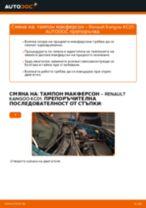 RENAULT KANGOO ръководство за ремонт и отстраняване на неизправности
