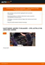 Opel Astra g f48 remont ja hooldus juhend