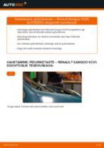 RENAULT hooldus - juhend pdf