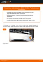 Kuidas vahetada BMW X5 E53 esi-piduriketaste – õpetus