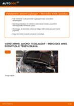 Asendamine Amordi Tugilaager MERCEDES-BENZ A-CLASS: käsiraamatute