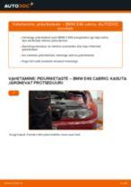 BMW käsiraamatute laadida