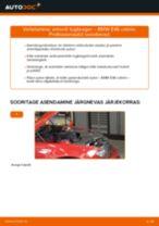 Kuidas vahetada BMW E46 cabrio esi-amordi tugilaager – õpetus
