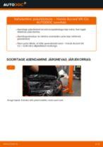 Kuidas vahetada Amordi Tugilaager eesmine ja tagumine Audi A8 D4 - juhend online