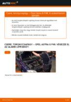 Autószerelői ajánlások - OPEL Opel Corsa C 1.0 (F08, F68) Törlőlapát csere