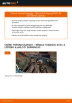 A Toronycsapágy cseréjének barkácsolási útmutatója a RENAULT KANGOO (KC0/1_)-on