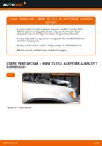 BMW X5 (E53) Féktárcsák beszerelése - lépésről-lépésre útmutató
