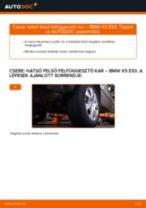 Lépésről-lépésre PDF-útmutató - BMW X5 (E53) Lengőkar csere