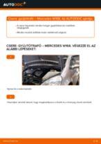 Gyújtótrafó-csere Mercedes W168 gépkocsin – Útmutató