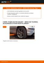 Autószerelői ajánlások - BMW BMW 3 Touring (E46) 320i 2.2 Levegőszűrő csere