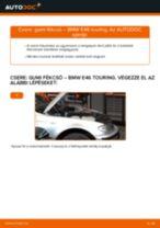 ALFA ROMEO 166 hátsó bal Motor csapágyzás cseréje: kézikönyv pdf