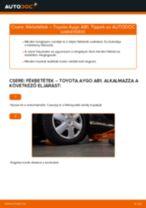 Autószerelői ajánlások - TOYOTA Toyota Aygo ab1 1.4 HDi Olajszűrő csere