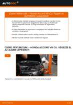 HONDA kezelési útmutató pdf