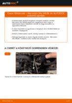 Cseréljünk Csapágy Tengelytest MERCEDES-BENZ VITO: felhasználói kézikönyv