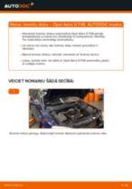 Tiešsaistes rokasgrāmata, kā pašam mainīt Degvielas filtrs uz OPEL ASTRA G Hatchback (F48_, F08_)