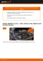 Automehāniķu ieteikumi OPEL Opel Astra g f48 1.6 (F08, F48) Pamatluktura kvēlspuldze nomaiņai