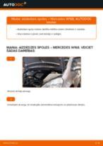 Aizdedzes spole maiņa: pdf instrukcijas MERCEDES-BENZ A-CLASS