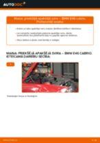 BMW 3 SERIES Svira nomaiņa: rokasgrāmata