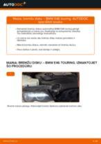 Kā nomainīt: aizmugures bremžu diskus BMW E46 touring - nomaiņas ceļvedis