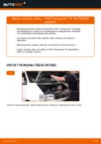 Rokasgrāmata PDF par TRANSPORTER remonts un apkopi