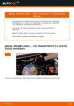 VW TRANSPORTER lietotāja rokasgrāmata