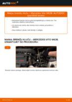 MERCEDES-BENZ VITO Bremžu uzlikas maiņa: bezmaksas pdf