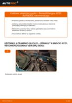 RENAULT techninės priežiūros vadovas pdf