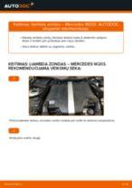 MERCEDES-BENZ vartotojo vadovas pdf