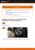 FORD FOCUS Rato guolis keitimas: nemokamas pdf