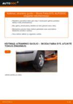 SKODA FABIA Gofruotoji Membrana Vairavimas keitimas: nemokamas pdf