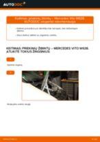 Žingsnis po žingsnio pakeiskite Peugeot 307 SW Ašies montavimas PDF vadovas