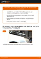 Schimbare Disc frana VW POLO: manual de intretinere si reparatii