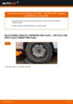 Schimbare Brat Suspensie VW POLO: manual de intretinere si reparatii