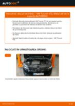 Înlocuire Disc frana față si spate VW TOURAN (1T3): ghid pdf