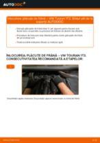 Cum să schimbați: plăcuțe de frână din spate la VW Touran 1T3 | Ghid de înlocuire