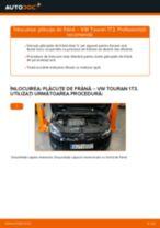 Cum să schimbați: plăcuțe de frână din față la VW Touran 1T3 | Ghid de înlocuire
