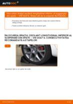 Cum să schimbați: brațul oscilant longitudinal inferior al suspensiei din spate la VW Golf 6 | Ghid de înlocuire