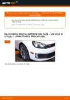 Cum să schimbați: brațul inferior din față la VW Golf 6 | Ghid de înlocuire