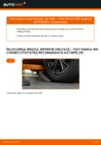 Tutorialul etapizat în format PDF pentru înlocuirea Disc frana la Mazda 2 MPV