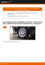 Cum să schimbați: brațul inferior din spate la Ford Focus MK2 | Ghid de înlocuire