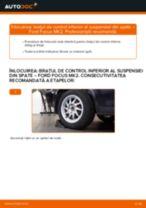 Cum să schimbați: brațul de control inferior al suspensiei din spate la Ford Focus MK2 | Ghid de înlocuire