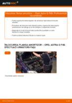 Cum să schimbați: flansa amortizor din față la Opel Astra G F48 | Ghid de înlocuire