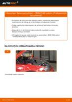 Cum schimbare Kit amortizoare spate si față BMW 3 Convertible (E46) - tutoriale online