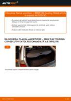 Cum să schimbați: flansa amortizor din spate la BMW E46 touring | Ghid de înlocuire