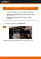 Cum să schimbați: plăcuțe de frână din spate la VW Transporter T4 | Ghid de înlocuire