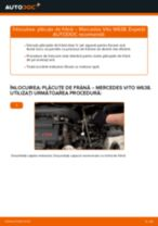 Schimbare Placute Frana MERCEDES-BENZ VITO: pdf gratuit
